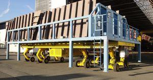 remorque pour matériel industriel / à plateau