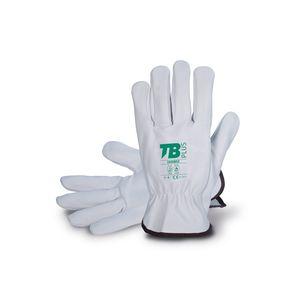 gants de manutention / de protection mécanique / antichaleur / en peau de vache