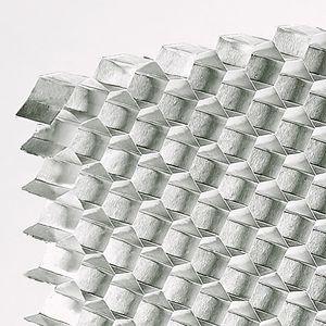 nid d'abeille en aluminium