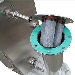 tuyau rigide pour air comprimé / pour convoyage / en acier inoxydable / flexible