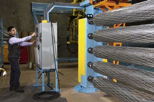 machine d'enroulement filamentaire 4 axes