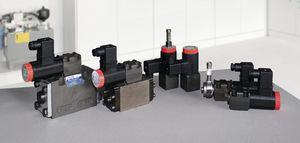 distributeur hydraulique actionné par solénoïde