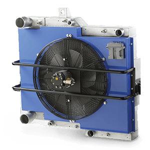 refroidisseur de gaz / pour moteur et transmission