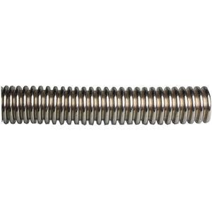 tuyau flexible pour l'eau / pour chauffage / en acier inoxydable / annelé