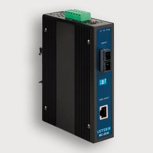 commutateur convertisseur convertisseur média / administrable / Ethernet / sur rail DIN