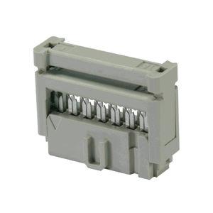 connecteur SMT / rectangulaire / plat / femelle