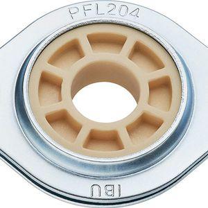 palier à bride / en métal / résistant à la poussière / auto-lubrifiant