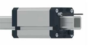 guidage linéaire en aluminium / à rail carré
