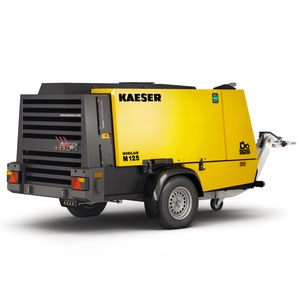 compresseur d'air / mobile / à moteur diesel / de chantier