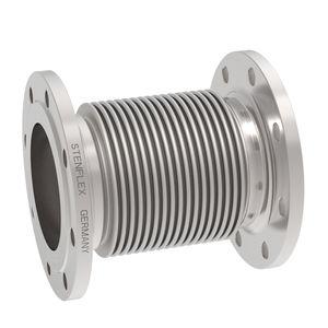 compensateur de dilatation en métal / rond / à bride / à souder