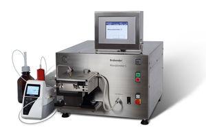 absorptiomètre pour la détermination du nombre d'absorption d'huile