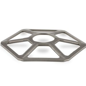 rondelle Belleville / hexagonale / en acier / optimisée