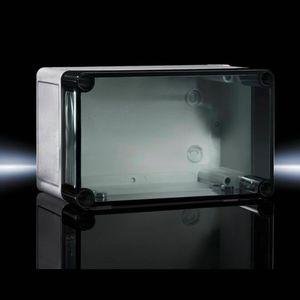 boîtier en plastique renforcé fibre de verre / de petite taille / rectangulaire / en polycarbonate