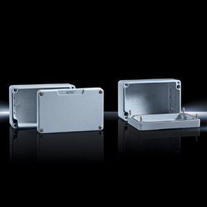 boîtier en fonte d'aluminium / de petite taille / rectangulaire / en aluminium laqué