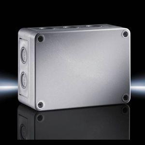 boîtier avec estampages métriques / de petite taille / rectangulaire / en polycarbonate