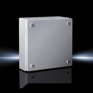 boîtier de petite taille / rectangulaire / en tôle d'acier / en acier laqué