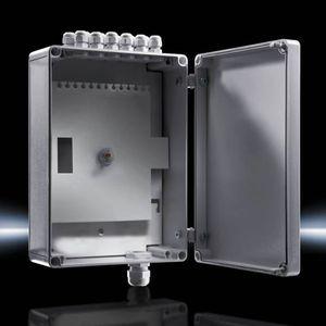boîtier de distribution / de petite taille / rectangulaire / en polycarbonate