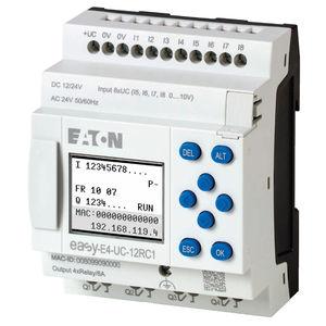 relais de contrôle de tension / sur rail DIN / programmable / compact