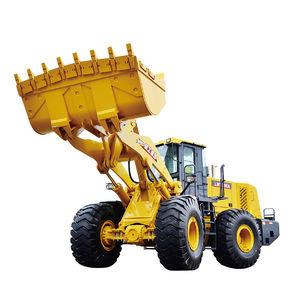 chargeuse à roues / pivotante / pour chantier / pour carrière