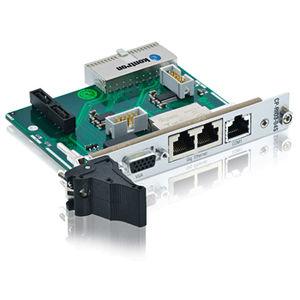 module E/S analogique / Ethernet / CompactPCI / rear transition module