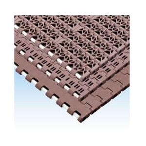 bande de convoyeur flexible / modulaire / en plastique