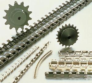 chaîne de convoyage en acier / à double pas / de petite taille