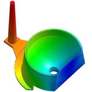 logiciel de simulation de moulage par injection / de process / de process d'injection plastique