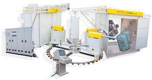 machine de rotomoulage 5 zones de travail