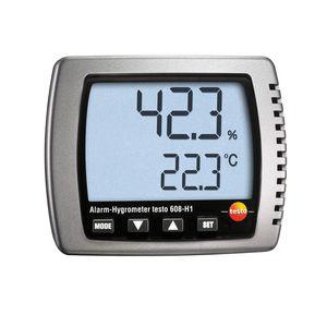 thermo-hygromètre numérique / portable / à point de rosée / humidité relative