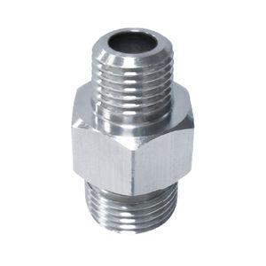 mamelon en acier inoxydable / en laiton / fileté / hexagonal