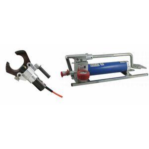 coupe-câbles hydrauliques / de sécurité / avec pompes à pied
