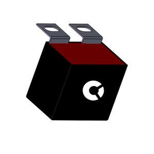 condensateur à film / pour circuit imprimé / de puissance