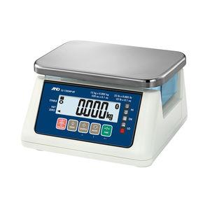 balance benchtop / avec afficheur LCD / étanche / hygiénique