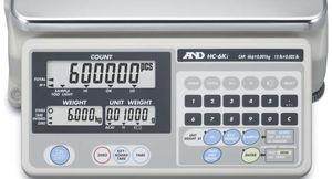 balance compteuse / avec afficheur LCD / plateau en acier inoxydable