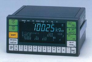 indicateur de pesage affichage à LED / encastrable / robuste
