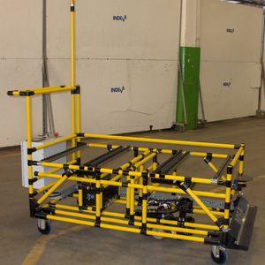 véhicule autoguidé pour entrepôts