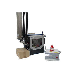 machine d'impression-pose d'étiquettes à transfert thermique / monochrome / pour étiquettes / pour emballage