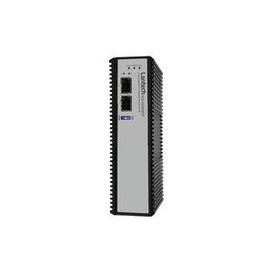 convertisseur Ethernet / sur rail DIN / industriel / robuste