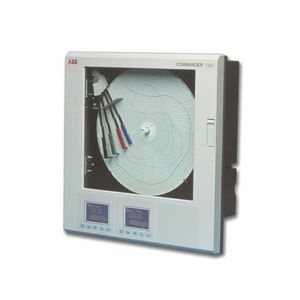 enregistreur papier / pour liquides / programmable / à diagramme circulaire