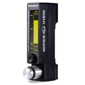 régulateur de débit massique thermique / pour gaz / de précision / numérique