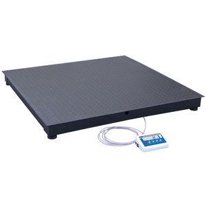 balance à plate-forme / avec afficheur LCD / à quatre capteurs / industrielle