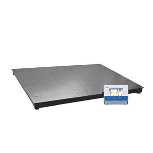 balance à plate-forme / multifonction / avec indicateur séparé / en acier inoxydable
