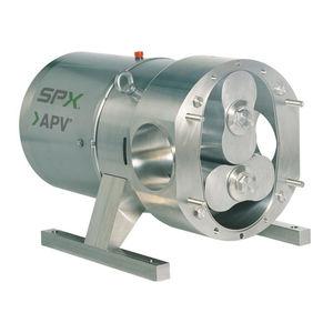 pompe à lobes / pour produits chimiques / pour boisson / pour produits laitiers