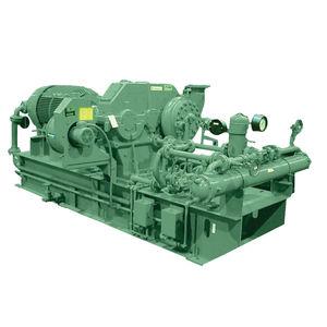 compresseur d'air / de gaz / stationnaire / à moteur électrique
