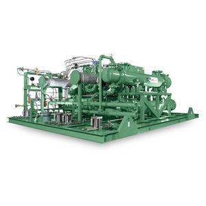 compresseur d'azote / de gaz naturel / stationnaire / à moteur électrique