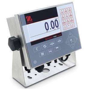 indicateur de pesage affichage LCD / encastrable / IP66 / en acier inoxydable