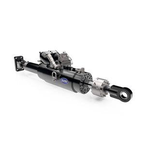 servo-vérin hydraulique / à double effet / pour l'industrie automobile