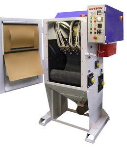 grenailleuse à bande / pour métal / pour produits en vrac / automatique
