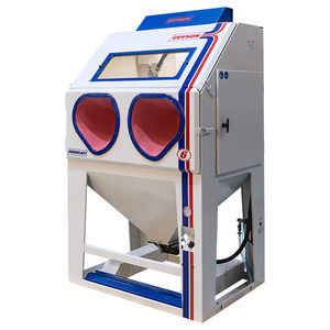 cabine de sablage à pression / manuelle / pour applications lourdes