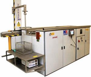 machine de nettoyage à eau / à ultrasons / automatique / pour l'industrie aéronautique